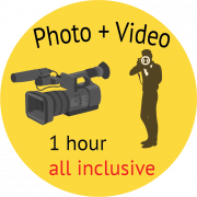 photo + video packege logo