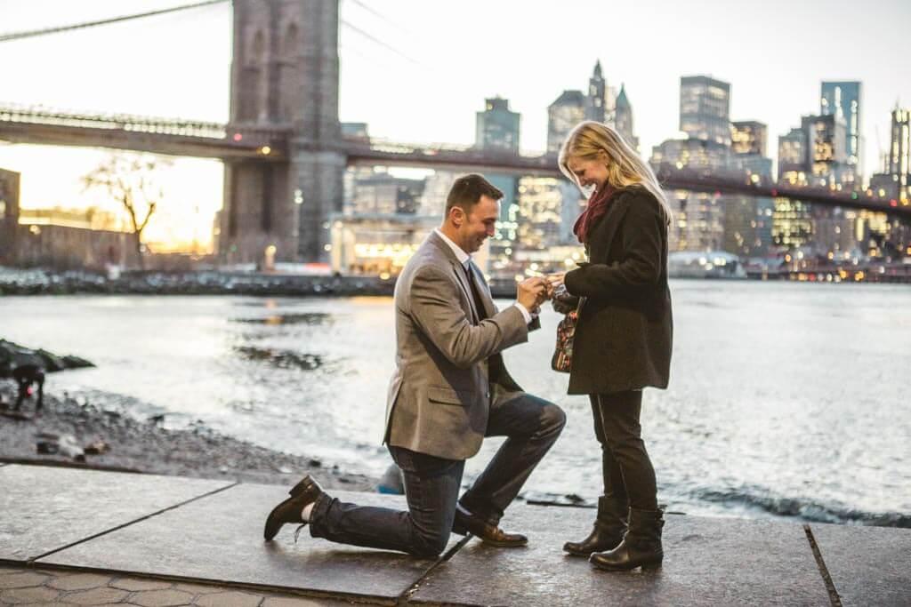 Brooklyn Bridge Park Romantic Proposal Proposal Ideas And Planning