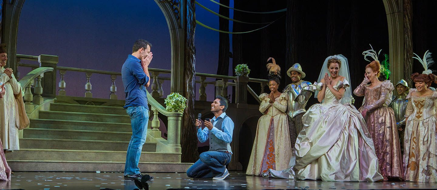broadway marriage proposal