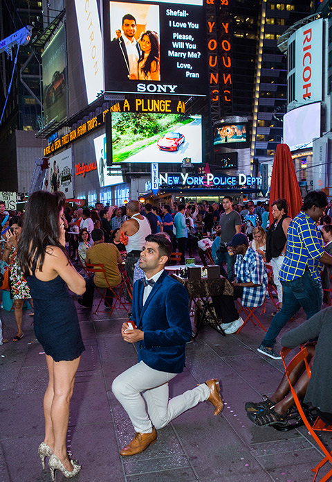 Times square billboard proposal. Photographer Vlad Leto