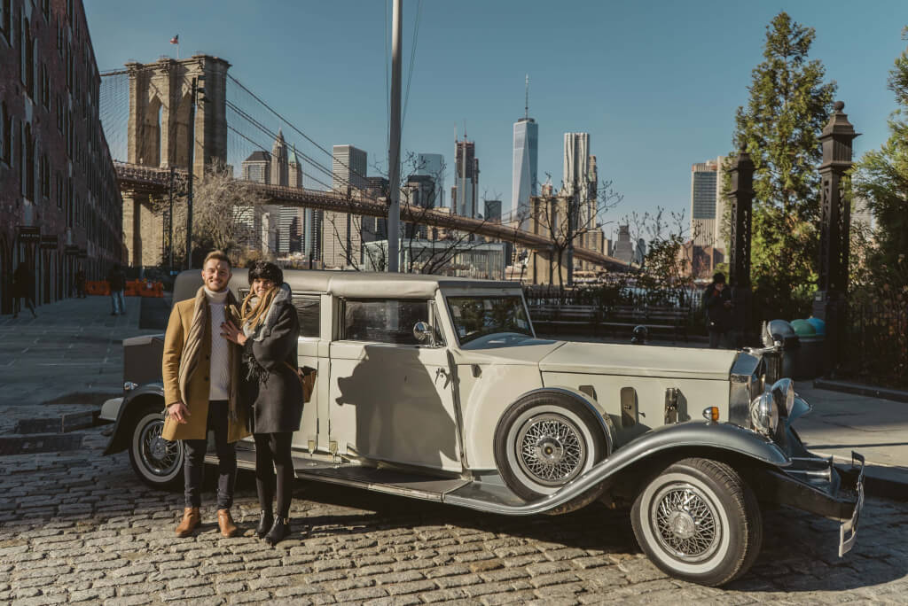 Vintage Car Marriage Proposal | Proposal Ideas and Planning