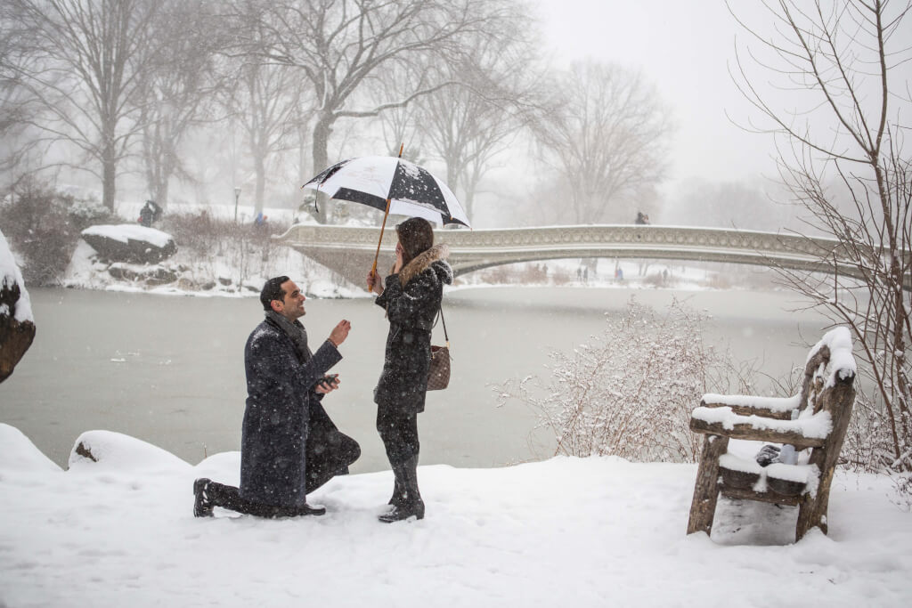 How To Plan A Perfect Winter Proposal In New York